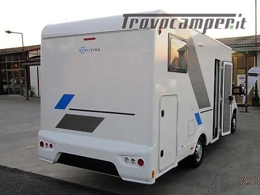 Semintegrale con basculante e garage SUN LIVING A70SP (by Adria) *ex noleggio* usato  in vendita a Rieti - Immagine 2