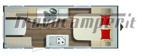 Roulotte Burstner premio 490 ts Limited usato  in vendita a Bergamo - Immagine 5