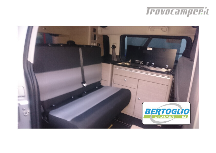 400 - campster - furgonato tetto soffietto omologato camper 5 posti usato  in vendita a Bolzano - Immagine 4