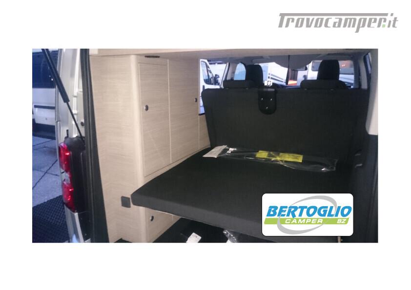 400 - campster - furgonato tetto soffietto omologato camper 5 posti usato  in vendita a Bolzano - Immagine 7