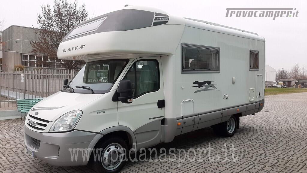 Mansardato Laika Kreos 3005 Iveco nuovo  in vendita a Pavia - Immagine 5