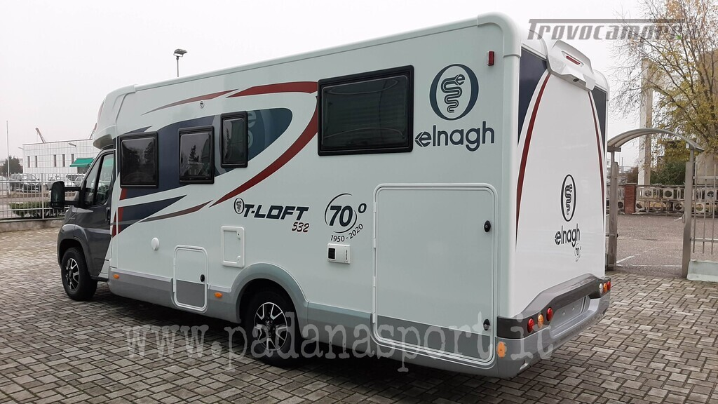 Semintegrale ELNAGh T Loft 532 Anniversary usato  in vendita a Pavia - Immagine 3