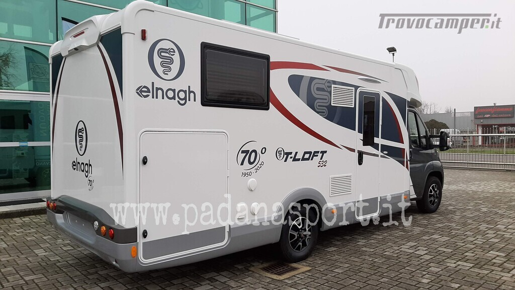 Semintegrale ELNAGh T Loft 532 Anniversary usato  in vendita a Pavia - Immagine 2