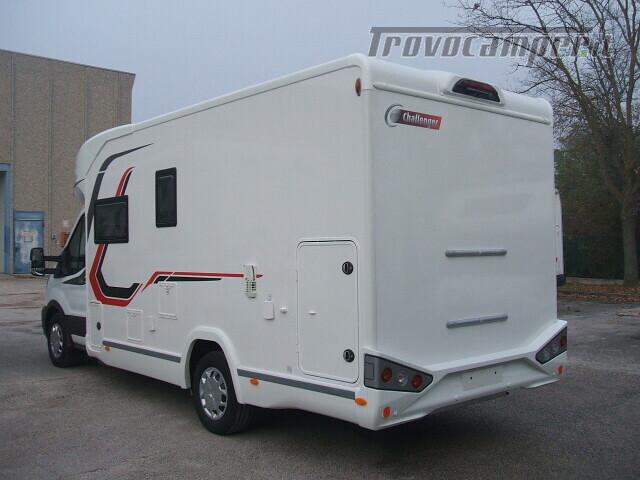 SEMINTEGRALE CHALLENGER 264 GARAGE DINETTE FACE TO FACE + BASCULANTE FORD 170CV nuovo  in vendita a Ancona - Immagine 3