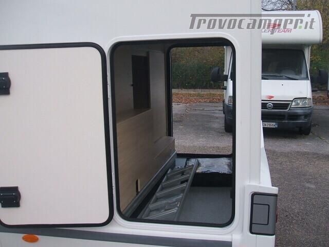 SEMINTEGRALE CHALLENGER 264 GARAGE DINETTE FACE TO FACE + BASCULANTE FORD 170CV nuovo  in vendita a Ancona - Immagine 6