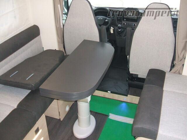 SEMINTEGRALE CHALLENGER 264 GARAGE DINETTE FACE TO FACE + BASCULANTE FORD 170CV nuovo  in vendita a Ancona - Immagine 7