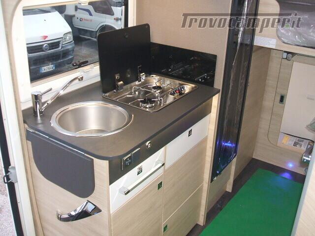 SEMINTEGRALE CHALLENGER 264 GARAGE DINETTE FACE TO FACE + BASCULANTE FORD 170CV nuovo  in vendita a Ancona - Immagine 10
