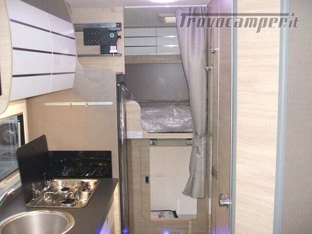 SEMINTEGRALE CHALLENGER 264 GARAGE DINETTE FACE TO FACE + BASCULANTE FORD 170CV nuovo  in vendita a Ancona - Immagine 11