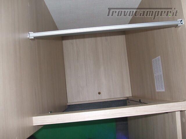 SEMINTEGRALE CHALLENGER 264 GARAGE DINETTE FACE TO FACE + BASCULANTE FORD 170CV nuovo  in vendita a Ancona - Immagine 15