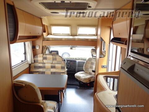 Laika Ecovip 5.1 G MAXI GARAGE 2.8 JTD CLIMA anno 2002 678 cm usato  in vendita a Brescia - Immagine 16