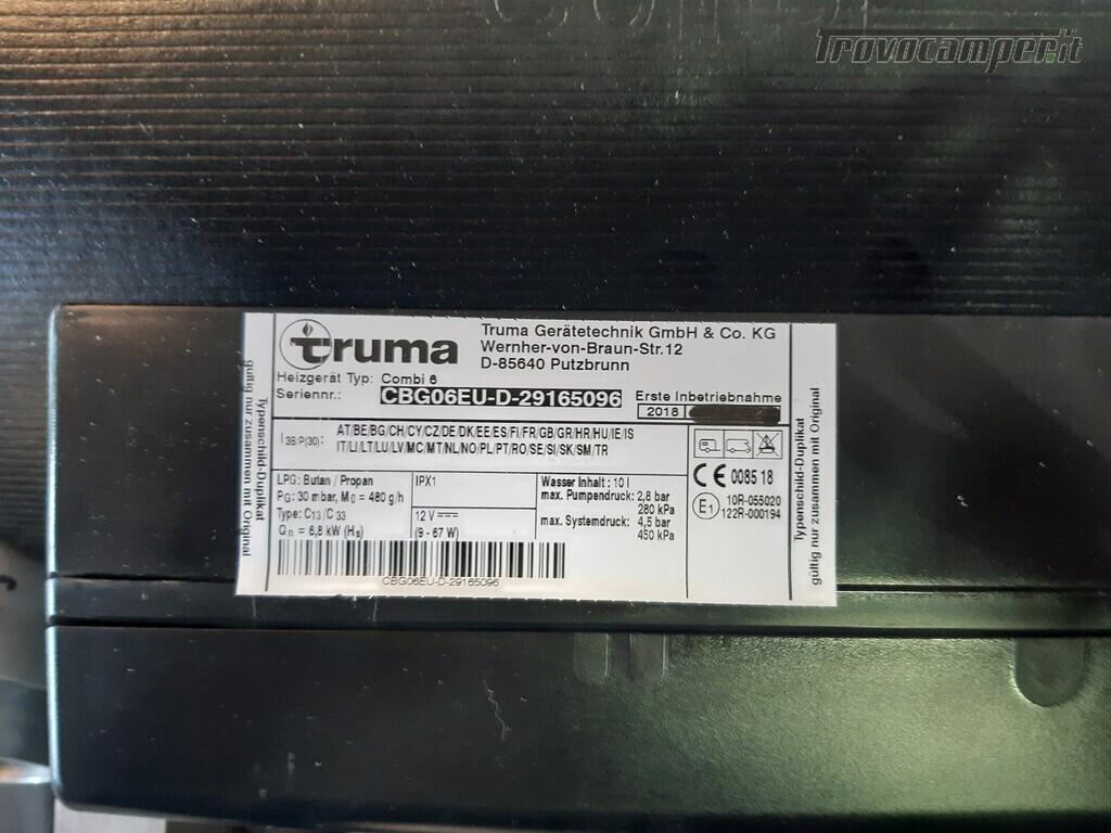 Truma Combi 6 gas riscaldatore usato  in vendita a Como - Immagine 2