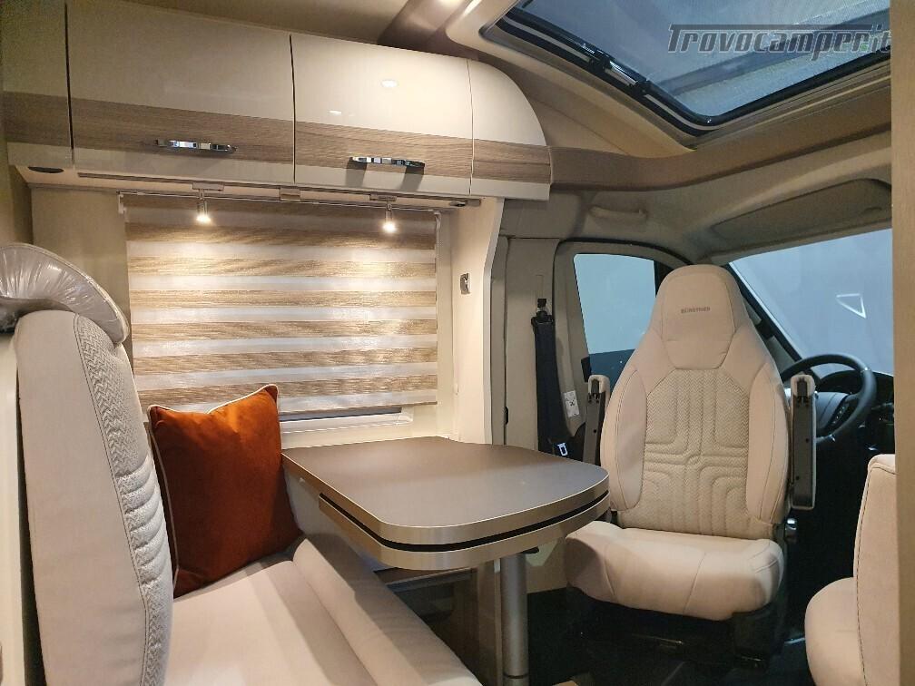 Semintegrale Burstner Travel Van T 590 G usato  in vendita a Bolzano - Immagine 7