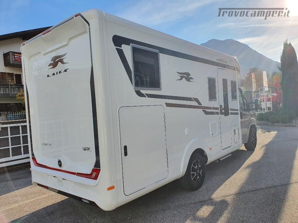 Semintegrale Laika Ecovip L 3019 usato  in vendita a Bolzano - Immagine 3