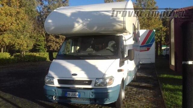 Mansardato mclouis autocaravan 7000 usato  in vendita a Biella - Immagine 7