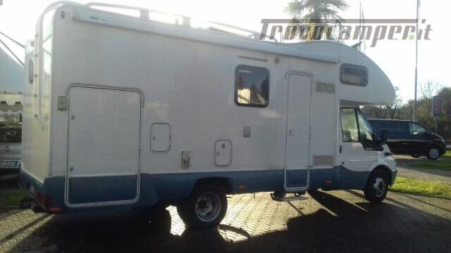 Mansardato mclouis autocaravan 7000 usato  in vendita a Biella - Immagine 5