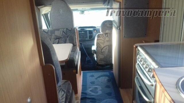 Mansardato mclouis autocaravan 7000 usato  in vendita a Biella - Immagine 24