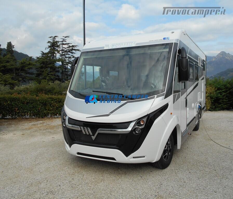 Mobilvetta Kea I 67 nuovo motorhome con maxi garage e dinette face-to-face nuovo  in vendita a Brescia - Immagine 1