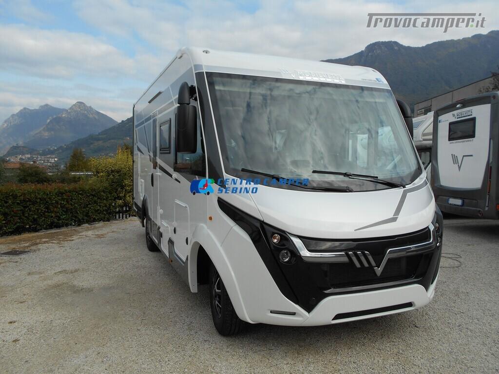 Mobilvetta Kea I 67 nuovo motorhome con maxi garage e dinette face-to-face nuovo  in vendita a Brescia - Immagine 2