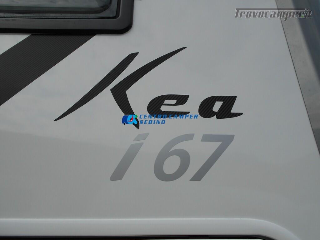 Mobilvetta Kea I 67 nuovo motorhome con maxi garage e dinette face-to-face nuovo  in vendita a Brescia - Immagine 4