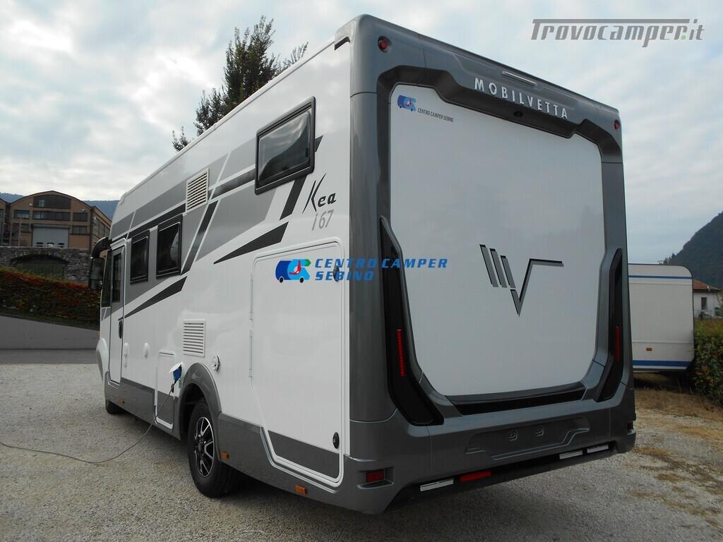 Mobilvetta Kea I 67 nuovo motorhome con maxi garage e dinette face-to-face nuovo  in vendita a Brescia - Immagine 5
