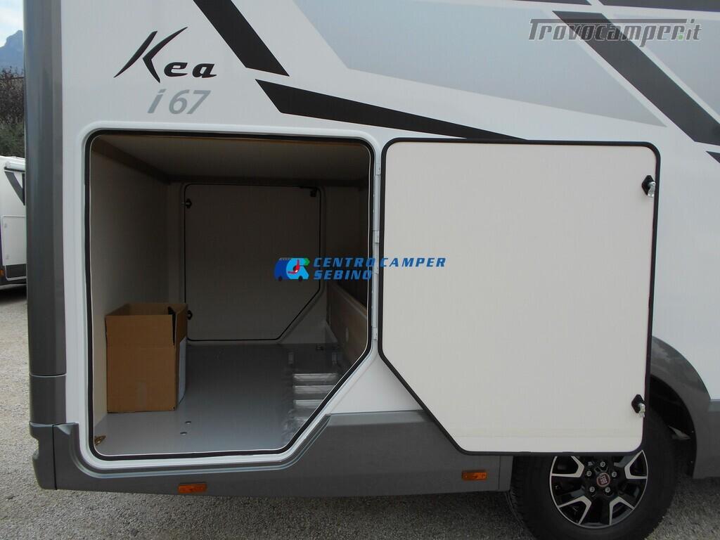 Mobilvetta Kea I 67 nuovo motorhome con maxi garage e dinette face-to-face nuovo  in vendita a Brescia - Immagine 7