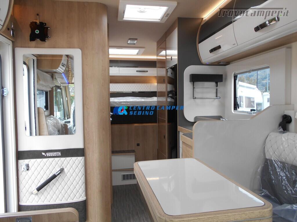 Mobilvetta Kea I 67 nuovo motorhome con maxi garage e dinette face-to-face nuovo  in vendita a Brescia - Immagine 14