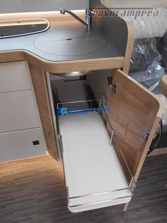 Mobilvetta Kea I 67 nuovo motorhome con maxi garage e dinette face-to-face nuovo  in vendita a Brescia - Immagine 17
