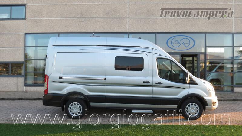 Camper puro Fontvendome Forty Van 4x4 Integrale 5,98mt usato  in vendita a Alessandria - Immagine 1
