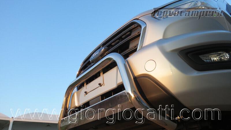 Camper puro Fontvendome Forty Van 4x4 Integrale 5,98mt usato  in vendita a Alessandria - Immagine 18