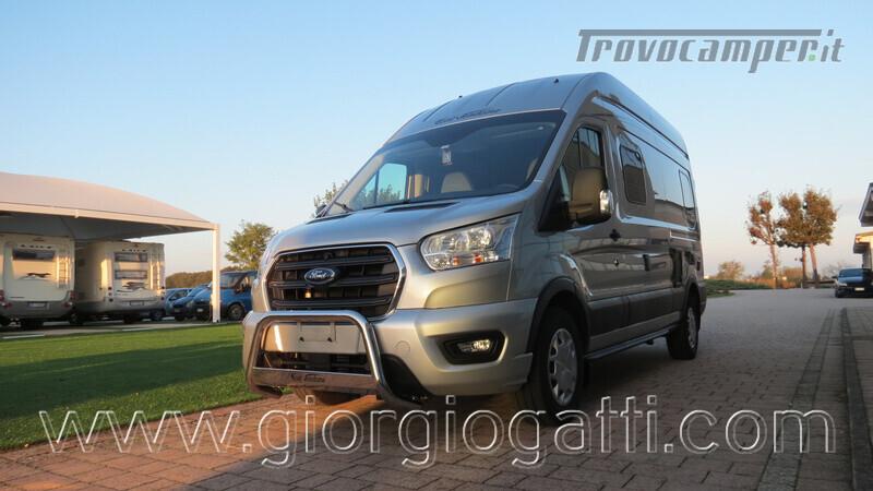 Camper puro Fontvendome Forty Van 4x4 Integrale 5,98mt usato  in vendita a Alessandria - Immagine 19