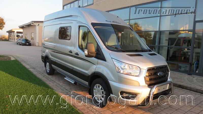 Camper puro Fontvendome Forty Van 4x4 Integrale 5,98mt usato  in vendita a Alessandria - Immagine 20