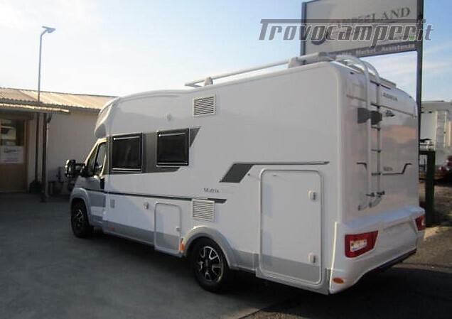 SEMINTEGRALE 6 POSTI CON BASCULANTE E GARAGE DA 6.99 MT ADRIA MATRIX M600 SP usato  in vendita a Rieti - Immagine 4