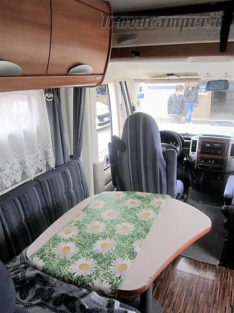 MOTORHOME LETTI GEMELLI PATENTE C HYMER B 675 LUXURY CLASS nuovo  in vendita a Rieti - Immagine 4