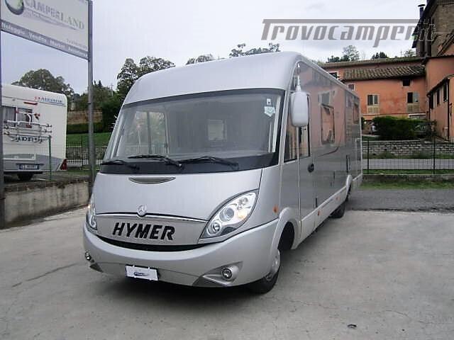 MOTORHOME LETTI GEMELLI PATENTE C HYMER B 675 LUXURY CLASS nuovo  in vendita a Rieti - Immagine 2