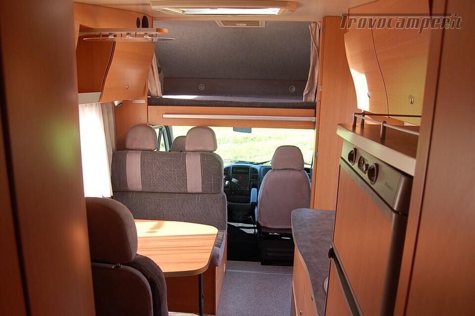 MANSARDATO CON GARAGE KNAUS SUN TRAVELLER 708 DG nuovo  in vendita a Milano - Immagine 3