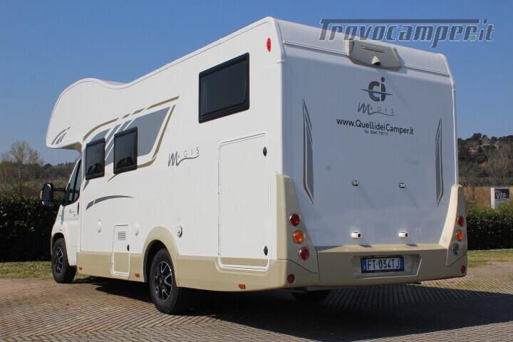 Magis 84 M mansardato letti gemelli e garage anno 2019 usato  in vendita a Rimini - Immagine 4