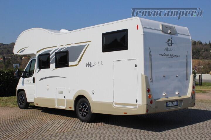 Magis 84 M mansardato letti gemelli e garage anno 2019 usato  in vendita a Rimini - Immagine 5