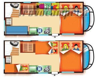 MANSARDATO COMPATTO 5/6 POSTI C.I. AUTOROLLER 2 CON PORTABICI nuovo  in vendita a Verbano-Cusio-Ossola - Immagine 4