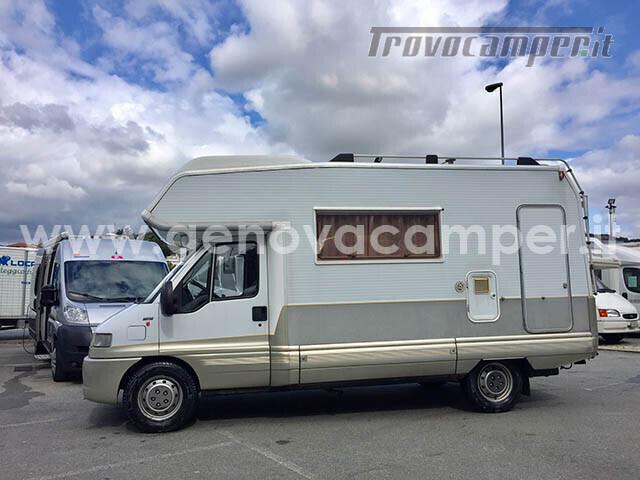 Laika Ecovip 5 L Mansardato con Portamoto nuovo  in vendita a Genova - Immagine 2