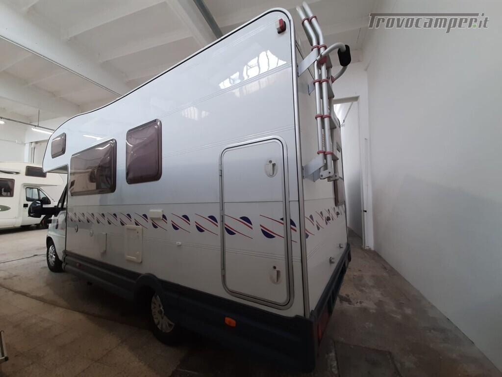 MANSARDATO C.I. CARIOCA DEL 2003 SU FIAT DUCATO 2800 - 127 CV usato  in vendita a Macerata - Immagine 2
