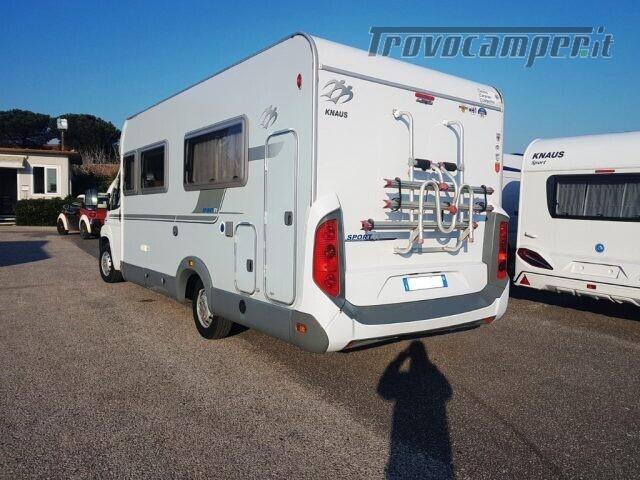 Semintegrale KNAUS SPORT TI 700 usato  in vendita a Roma - Immagine 6