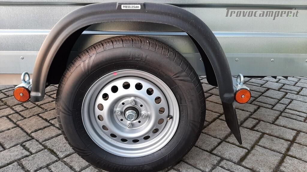 Carrello trasporto cose con rampe di salita nuovo  in vendita a Pavia - Immagine 2