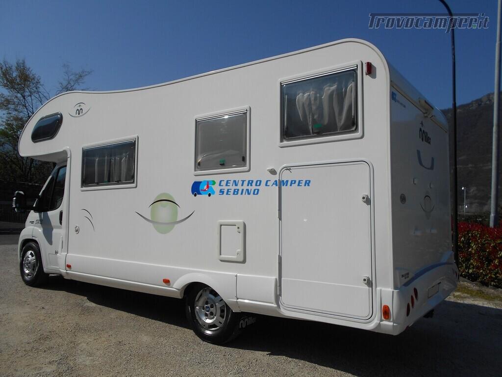 Miller Arizona camper mansardato 5 posti con garage e gancio di traino usato  in vendita a Brescia - Immagine 4