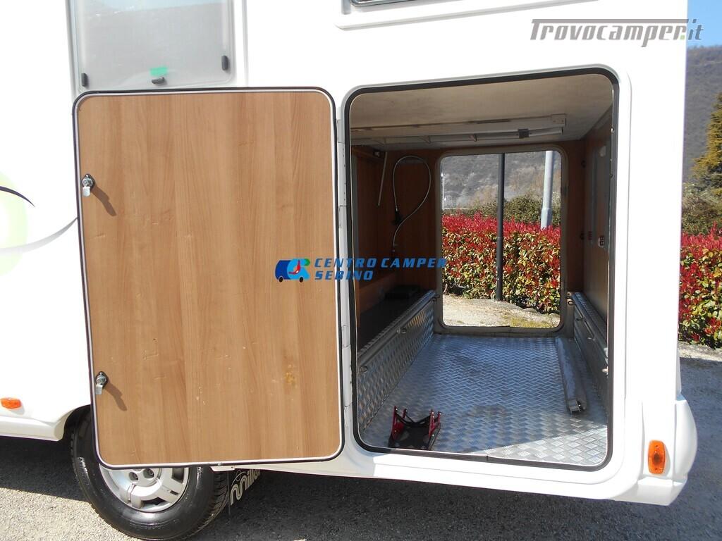 Miller Arizona camper mansardato 5 posti con garage e gancio di traino usato  in vendita a Brescia - Immagine 6