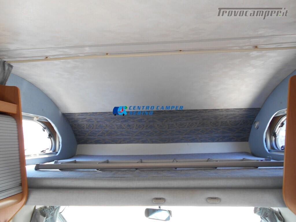 Miller Arizona camper mansardato 5 posti con garage e gancio di traino usato  in vendita a Brescia - Immagine 10
