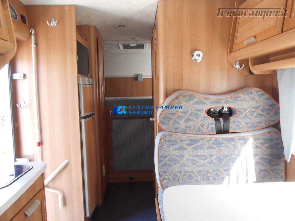 Miller Arizona camper mansardato 5 posti con garage e gancio di traino usato  in vendita a Brescia - Immagine 15