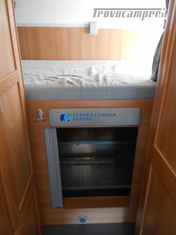 Miller Arizona camper mansardato 5 posti con garage e gancio di traino usato  in vendita a Brescia - Immagine 19