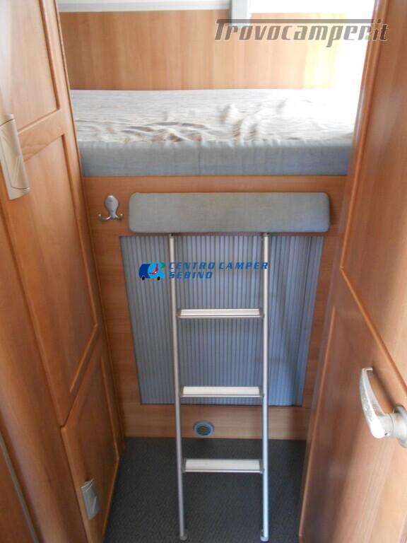 Miller Arizona camper mansardato 5 posti con garage e gancio di traino usato  in vendita a Brescia - Immagine 20