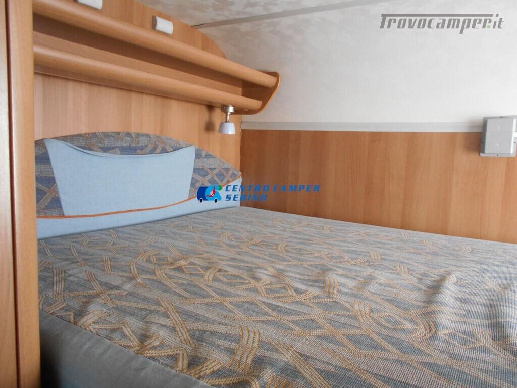 Miller Arizona camper mansardato 5 posti con garage e gancio di traino usato  in vendita a Brescia - Immagine 21