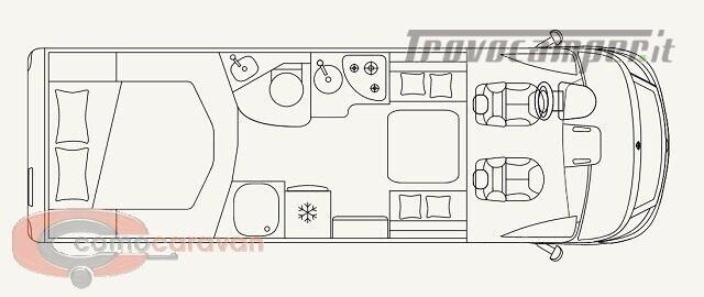 Motorhome LAIKA MOTORHOME ECOVIP H 3512 DS NOVITA' nuovo  in vendita a Como - Immagine 6